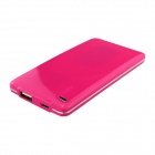 BOCHANG K-4 4000mAh Super Slim External Battery Charger for IPHONE / Samsung + More - Pink