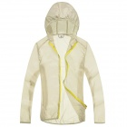 WindTour WT13514 Women's Outdoor Sports Sunproof Chinlon Jacket - Off-white (M)