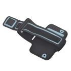Convenient Outdoor Sports Armband w/ Transparent Window for IPHONE 4 / 4S - Black