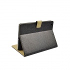 Protective PU leather + PC Case Cover Stand w/ Auto Sleep / Card Slot for IPAD AIR - Black