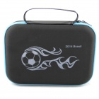 2014 FIFA World Cup Brasil beskyttende EVA kamera lagringen Bag for Gopro Hero 4 / 3 + / 3 / 2