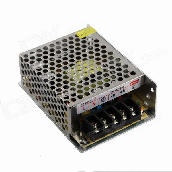 S-60W-12 AC 110-220V to DC 12V 5A 60W Switching Power Supply - Grey + Silver led power supply 48v 21a 100 120v 200 240v ac input single output switching power supply 1000w 48v transformer