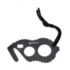 01 Emergency Tool Rope Cutter Knife - Black