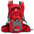 NUCKILY PM09 Outdoor Sports Water Resistant Oxford Backpack - Red (35L)