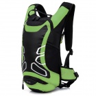LOCAL LION # 450 cyclisme Nylon Backpack Bag - vert + noir (12L)