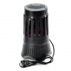 Etusivu LED Photocatalyst Mosquito Killer Trap Lamp - Musta + harmaa (US Plugss)