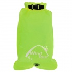 WindTour Multifunction Outdoor Waterproof Drifting Bag / Storage Bag - Fruit Green (33L)