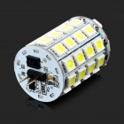 G4 7W 250lm 6000K 49-5050 SMD LED Lampada Bianca - Giallo + Argento + Multicolore (DC 12V)