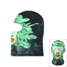 Outdoor UV Protection Large Brimmed Hat w/ Neck Protection / Mask-Desert - Green