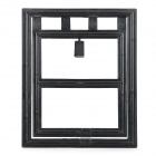 Convenient Screen Door for Pet Dog / Cat - Black