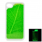 RONE EP-PC17 Stylish Liquid Effect Back Case for IPHONE 4 / 4S - Green