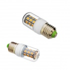 E27 12W 450lm 3000K 27-SMD 5050 LED Warm White Light Lamp Bulb - White (AC 85~265V)