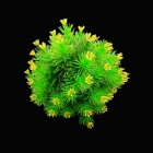 Decorative Lifelike Artificial Water Plants for Aquarium - Green + Yellow
