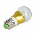 ZHISHUNJIA E27 3W 280lm 3000K 6-SMD 5630 LED chaude ampoule blanche Lampe (AC 85 ~ 265V)