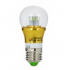 ZHISHUNJIA E27 3W 280lm 6-SMD 5630 LED Cold White Lamp Bulb (85~265V)