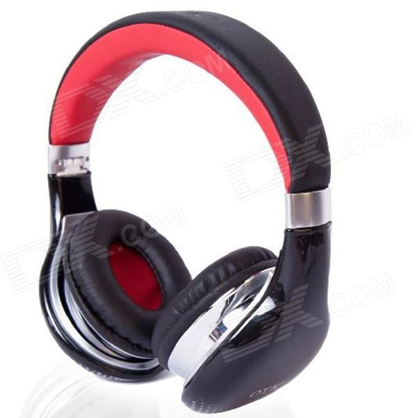 OYK 3.5mm Wired Stereo Headphones - Black + Red (120cm-Cable) audio technica ath ls50is 15119537 внутриканальные наушники red