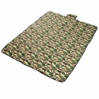 MUXIN CAMP F022 Convenient Outdoor Water Resistant Anti-damp Picnic Mat w/ Handle - AT Camouflage