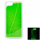 RONE EP-PC18 Creative Protective PC Back Case for IPHONE 5 / 5S - Green