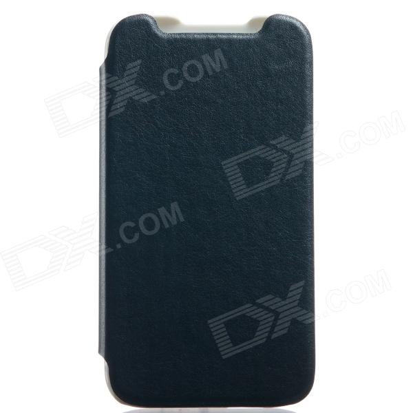 KALAIDENG Protective PU Leather Case Cover Stand for HTC Desire 310 - Black