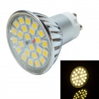 3W 12V 240lm 3000K 24-LED Warm White Lamp Bulb - Silver + White (12V)