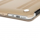 "Caso corpo Enkay Matte Protective PC completa para MacBook Air 11.6 ""- Golden"