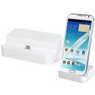 Micro USB Charging Dock Station for Samsung Phone - White