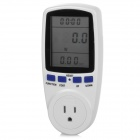 TaiShen TS-836 15A 1800W US Plug Socket Digital Power Watt Volt Amp Energy Meter Analyzer - White