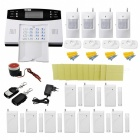 Home Burglar Security Alarm System w/ Detector Sensor Kit / Remote Control