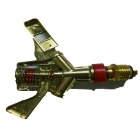 Zinc Alloy Lawn Sprinkler - Golden + Red (2 PCS)