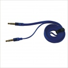 3.5mm Male to Male Aux Audio Cable - Blue (100cm)
