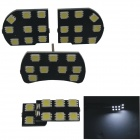 T10 5W 600lm 35 x SMD 5050 LED White Light Car Dome Light / Reading Light for Cruze - (12V / 4 PCS)