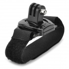 M-1 Plastic Arm Band Wrist Strap w/ 360' Rotating Connector for GoPro Hero 3+ / 3 / 2 / 1 - Black