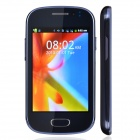"M-HORSE GT-S6812 Capacitive Screen Android 2.3 Bar Phone w/ 3.5"" / Wi-Fi / Bluetooth - Deep Blue"