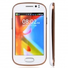 "M-HORSE GT-S6812 Capacitive Screen Android 2.3 Bar Phone w/ 3.5"" / Wi-Fi - White + Golden"