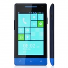 "M-HORSE H3039 Capacitive Screen Android 2.3 Bar Phone w/ 4.0"" / Wi-Fi / Bluetooth - Deep Blue + Blue"
