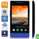 "M-HORSE H3039(E26) SC8810 Android 2.3.6 GSM Bar Phone w/ 4.0"", Wi-Fi, FM - Black + Dark Blue"