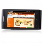"mixc X5 SC7710 Android 4.1.2 WCDMA Bar Phone w/ 4.0"", FM and Wi-Fi - Black"