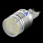 WaLangTing G9 2W 200lm 12-SMD 2835 LED Cool White Corn Lamp Bulb