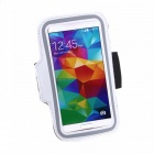 Sports Gym Arm Band Case Cover for for Samsung Galaxy S5 - White