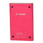 OTAO 7000mAh 2-in-1 Wireless Power Bank + Wireless Charging Receiver for Samsung Galaxy S4 - Red