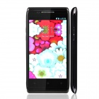 "X5 Capacitive Screen Android 2.3 Bar Phone w/ 4.0"" IPS / Bluetooth / Wi-Fi - Black"