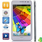 "N900(SM-N900) MTK6572 Dual-Core Android 4.2.2 GSM Bar Phone w/ 5.3"" IPS, Wi-Fi, FM - White"