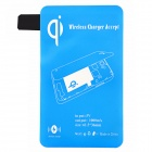 Wireless Charger Receiver for Samsung Galaxy S5 - Blue
