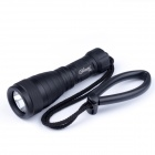 Brinyte DIV05 Cree XM-L2 600lm 1-Mode White Outdoor Diving Flashlight - Black (1 x 18650)