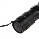 TMMQ TQ-BP4 LED 30lm 6000K White Bright Aluminum Alloy Flashlight - Black (1 x AA)