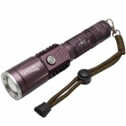 Xiaoyinghao ZY859 Cree XM-L T6 850lm 3-Mode White Flashlight - Coffee (1 x 18650)