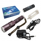 Xiaoyinghao ZY859 LED 850lm 3-Mode White Flashlight - Coffee (1 x 18650)