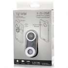 SFWM 4-in-1 Fish eye + Marco + Wide Angle + Front Camera Fish Eye Set for Samsung Galaxy Note 3