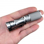 ZSJ-B18 200lm 3-Mode White Light Zooming Flashlight - Silver (1*14500)