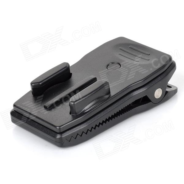 TOZ GP167 360 Degree Rotation Fast Release Plate Mount for Gopro Hero 4/ 3+ / 3 / 2 / 1 - Black